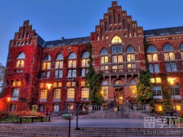 瑞典隆德大学排名及院校介绍