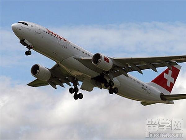 瑞士留学怎样乘坐飞机到达瑞士?