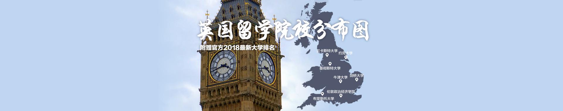 2018年TIMES英国大学综合排名